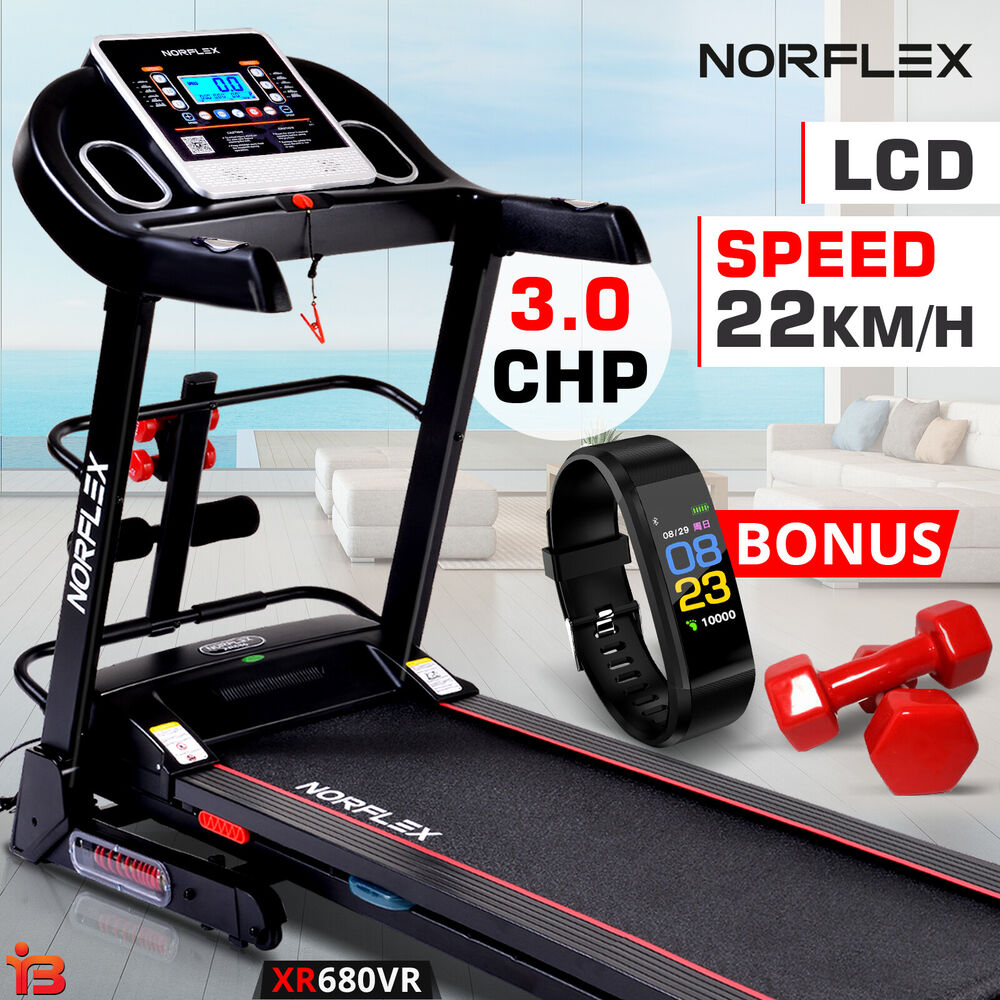 1bab8d57f7 Details about NEW NORFLEX 3.0P Treadmill Home Gym Exercise Machine Fitness  Tracker Equipment
