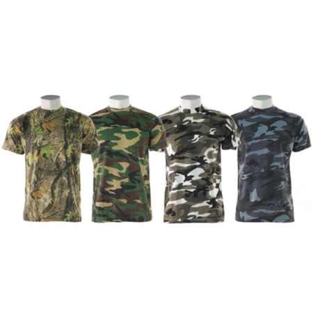 img-GAME Camouflage Slim Fit Camo T Shirt Hunting Military Fishing Army T Shirt Camo