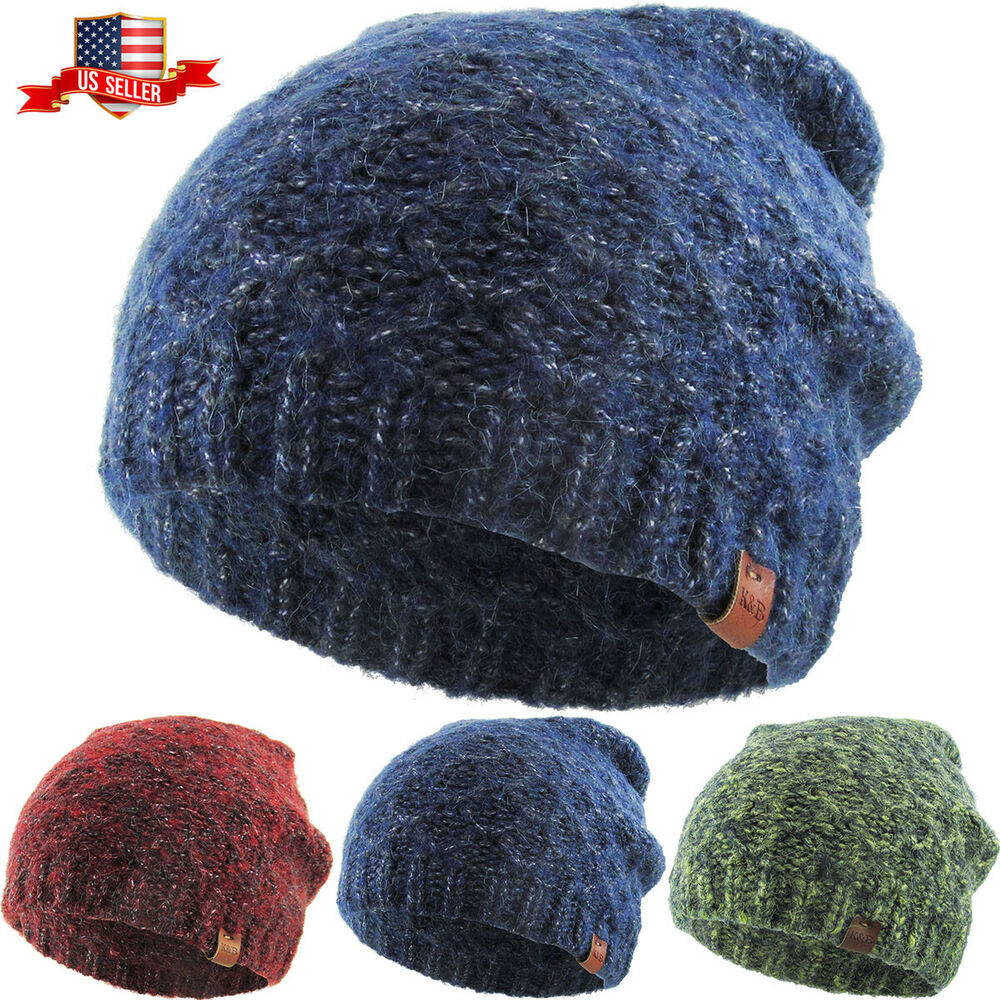 9b54745841a CLEARANCE SALE!! Mixed Heather Slouchy Beanie Winter Ski Skully ...