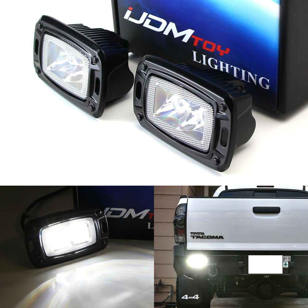 Flush Mount 10w Led Backup Or Driving Pod Lights For Truck