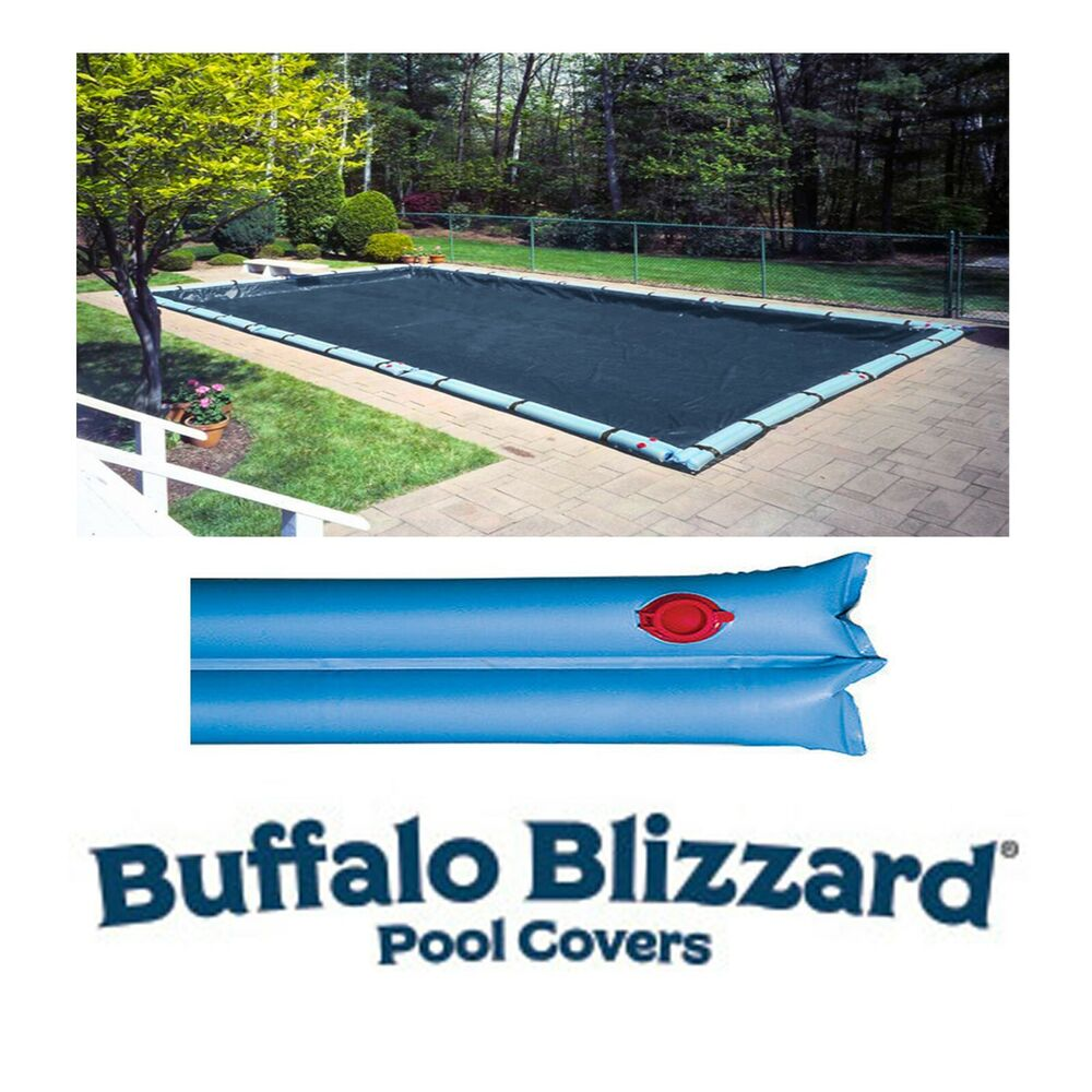 Deluxe Rectangle In Ground Swimming Pool Winter Covers W