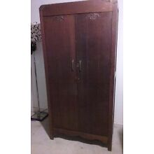 Vintage Wardrobe great for storage for arts and crafts, laundry room or clothing