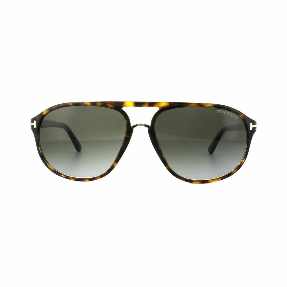 2b5f15831af Details about Tom Ford Sunglasses 0447 Jacob 52B Dark Havana Smoke Grey  Gradient