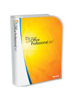 Microsoft Office 2007 Professional Retail Box Free Shipping!