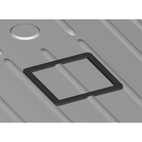 Sprinter NCV3 and VS30 High/Low Roof Vent Adapter