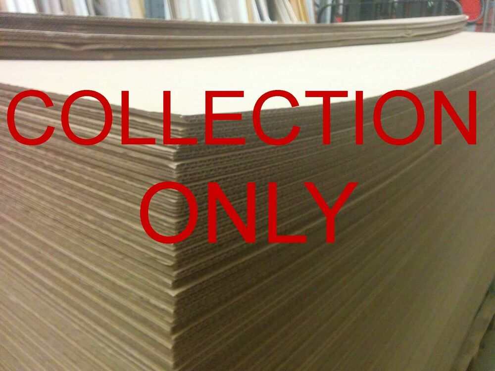 large massive corrugated double wall cardboard sheets