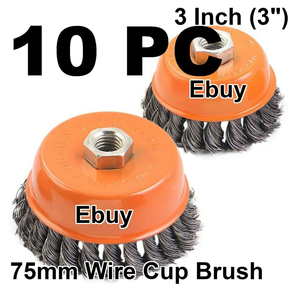 """Cup Brush; 5//8-11 NC 5/"""" S.S"""