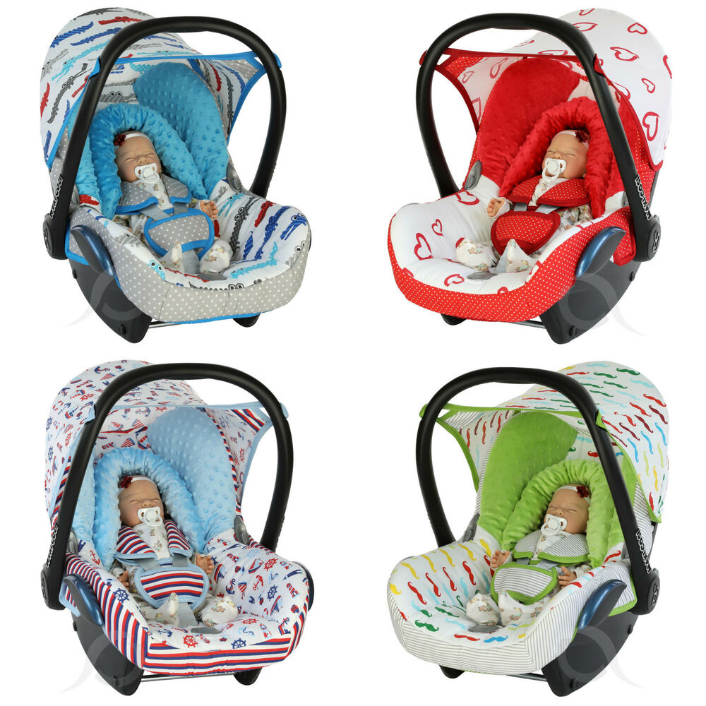 car seat cover replacement fits maxi cosi cabriofix 0 infant carrier full set ebay. Black Bedroom Furniture Sets. Home Design Ideas