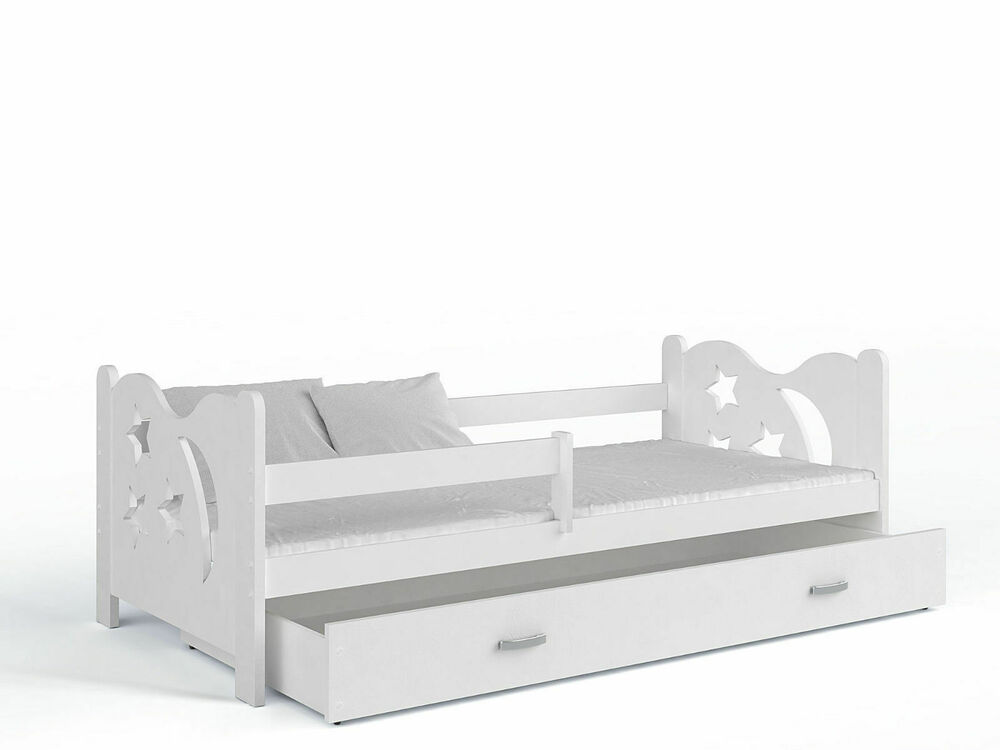 kinderbett spielbett jugendbett bett 80x160 matratze lattenrost schublade ebay. Black Bedroom Furniture Sets. Home Design Ideas