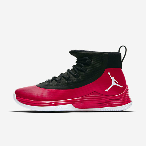 d04acfd94e0 Details about New Men s Air Jordan Ultra Fly 2 Shoes (897998-601)  University Red Black White