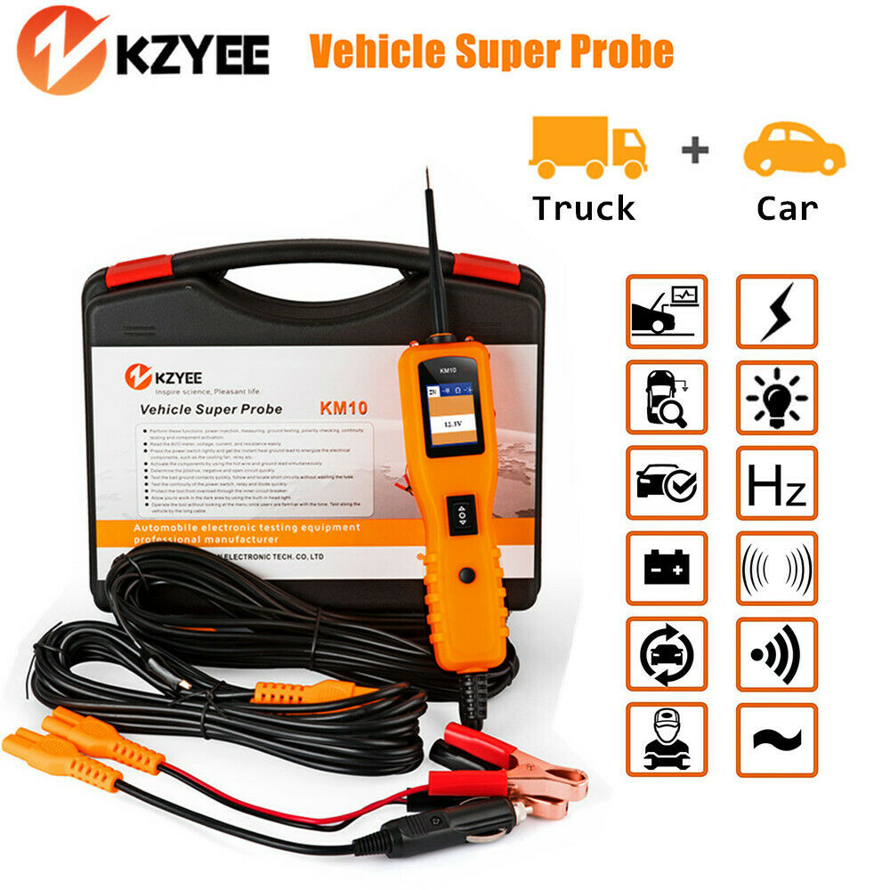 Fabulous Km10 Probe 12V 24V Car Electrical Circuit Tester Voltage Power Wiring Digital Resources Lavecompassionincorg