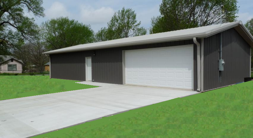 Steel building 30x40 simpson metal building kit garage for Metal shop house prices