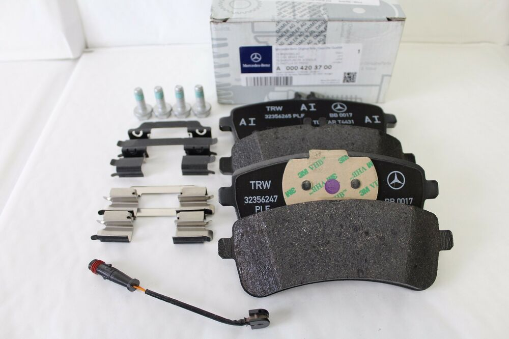 genuine mercedes benz w205 c class c63 amg rear brake pads. Black Bedroom Furniture Sets. Home Design Ideas