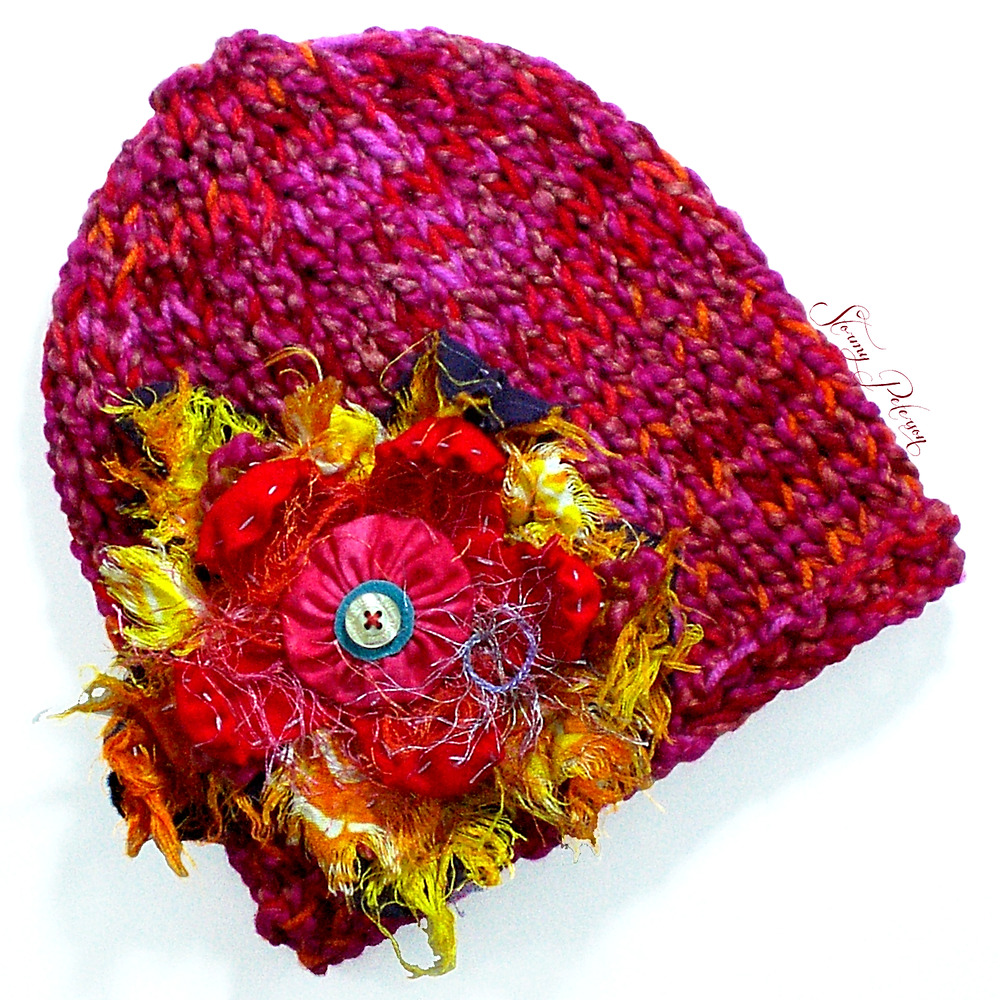 Details about Knitted Slim Fit Beanie Skull-Cap Hat - Color  Plumeria 0ee6986211d
