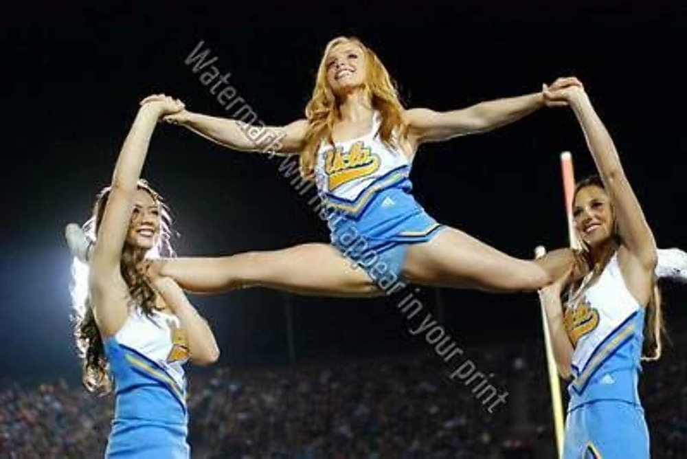 Sexy Ucla Bruins Cheerleader A60 Cheerleading Nfl Pic Girl -2843