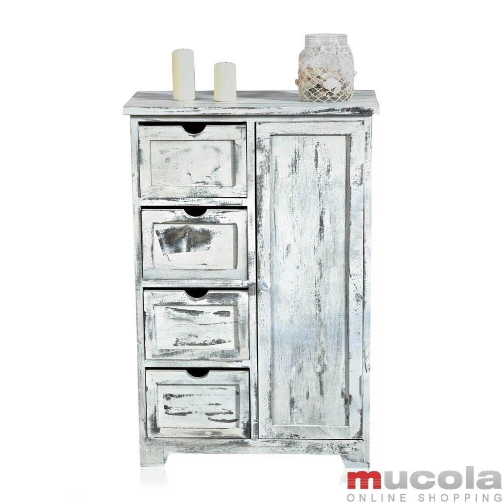 shabby chic sideboard 4 pouss e mati res bain tag re. Black Bedroom Furniture Sets. Home Design Ideas
