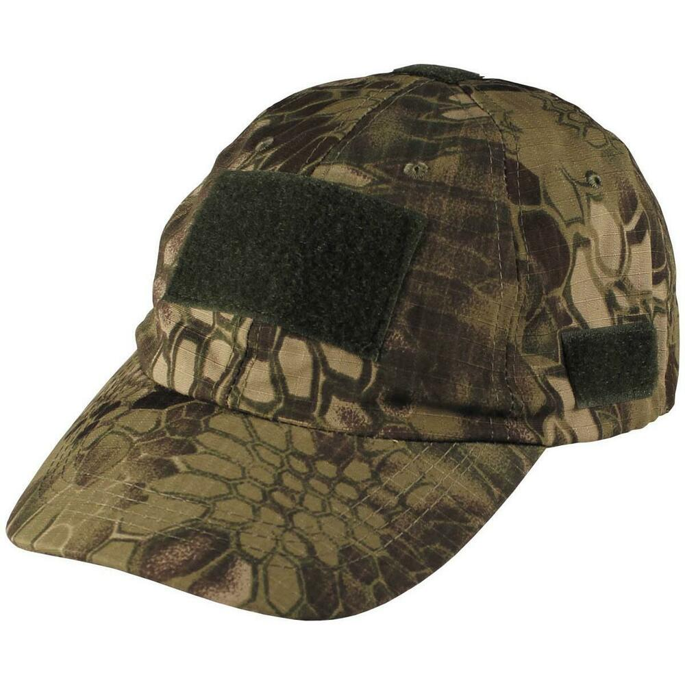 5b56e4d13a7 Details about MFH Military Style Baseball Cap Snake Woodland Mandra Hat  Airsoft Cadet 10263O