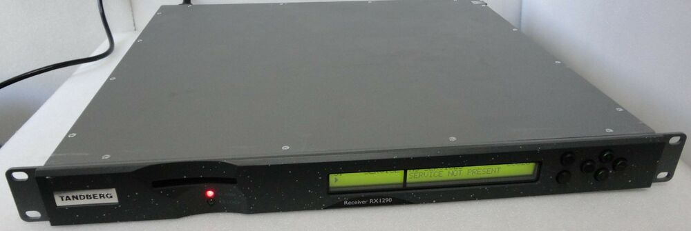 tandberg ericsson rx1290 multi format sd hd receiver decoder 5 rh ebay com Tandberg Camera Tandberg User Guide