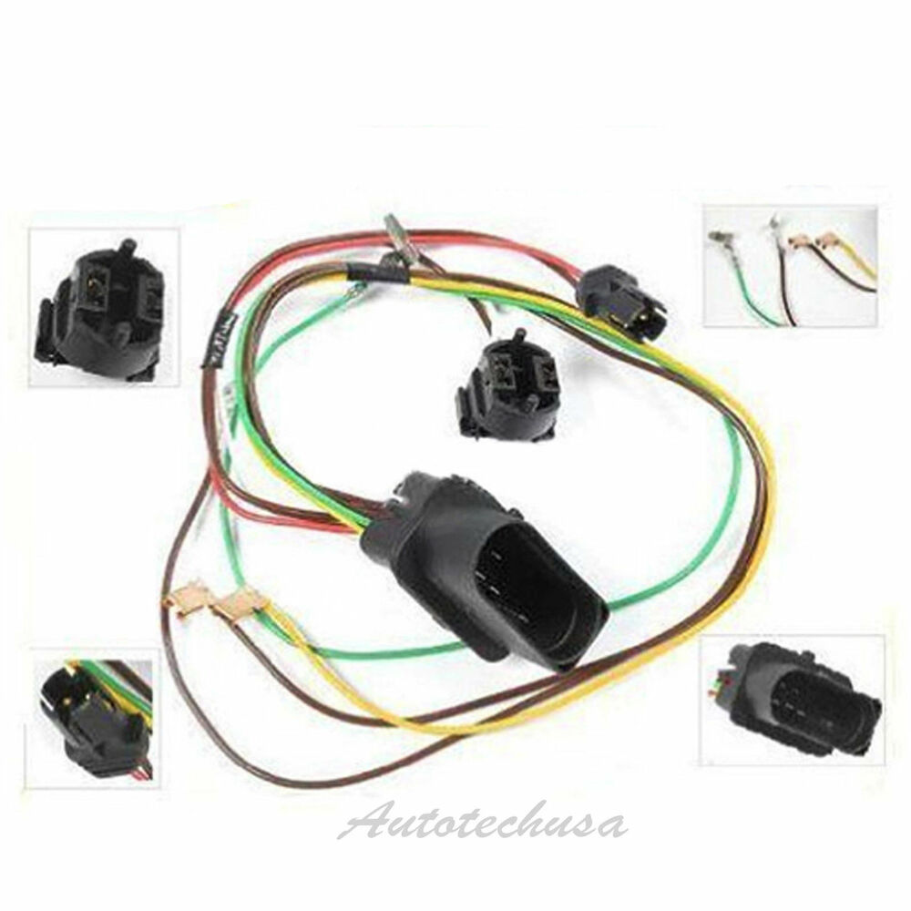 Right Headlight Head Lamp Wiring Harness Connector For