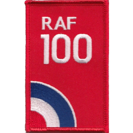 img-Royal Air Force RAF Centenary 100 Years Target Logo Embroidered Patch