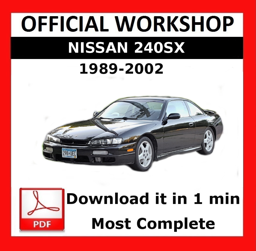 1995 nissan 240sx repair manual pdf complete wiring diagrams official workshop manual service repair nissan 240sx 1989 2002 rh ebay co uk 1993 nissan 240sx fandeluxe Image collections