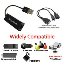 Ethernet Adapter for AMAZON FIRE STICK + NEW Fire TV3 - PLUG N PLAY - TV xStream