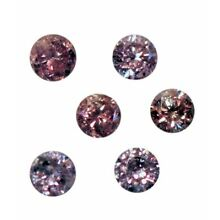 Natural Rare Fine Pink Diamond - Round - Australia, Argyle Mine