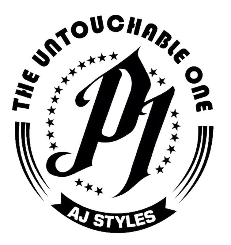 aj styles coloring pages - vinyl decal truck car sticker laptop wwe wwf wrestling