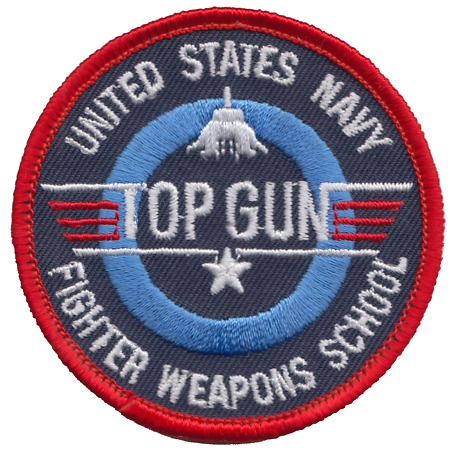 img-US Navy TOPGUN Strike Fighter Tactics Embroidered Patch ** LAST FEW **