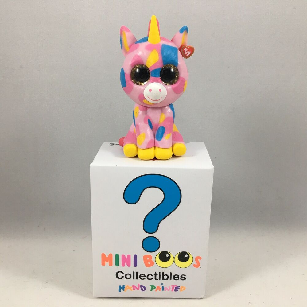 Details about TY Beanie Boos Mini Boo Series 1 Collectible Figure - FANTASIA  Unicorn (2 inch) 45ef479cf53