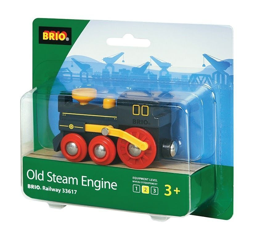 Details About Brio Old Steam Train Engine Wooden Train Engine Thomas Compatible New 33617