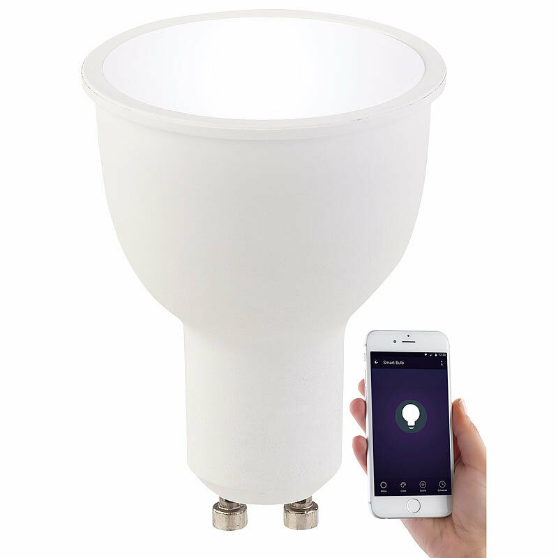 wlan led lampe amazon alexa google assistant kompatibel. Black Bedroom Furniture Sets. Home Design Ideas
