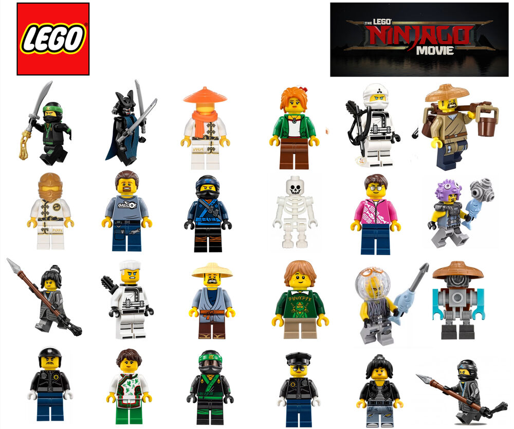 LEGO MINIFIGURE - NINJAGO MOVIE - ALL NEW AND GENUINE | eBay
