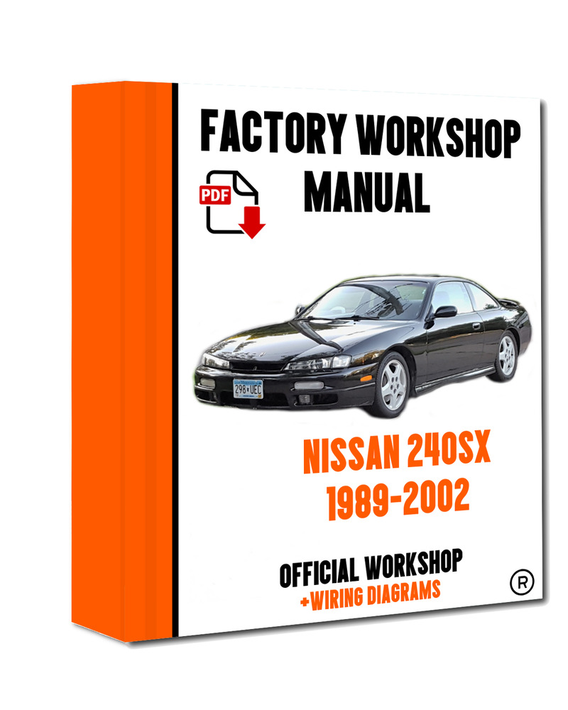 >> OFFICIAL WORKSHOP Manual Service Repair Nissan 240SX 1989 - 2002  7625694515383 | eBay