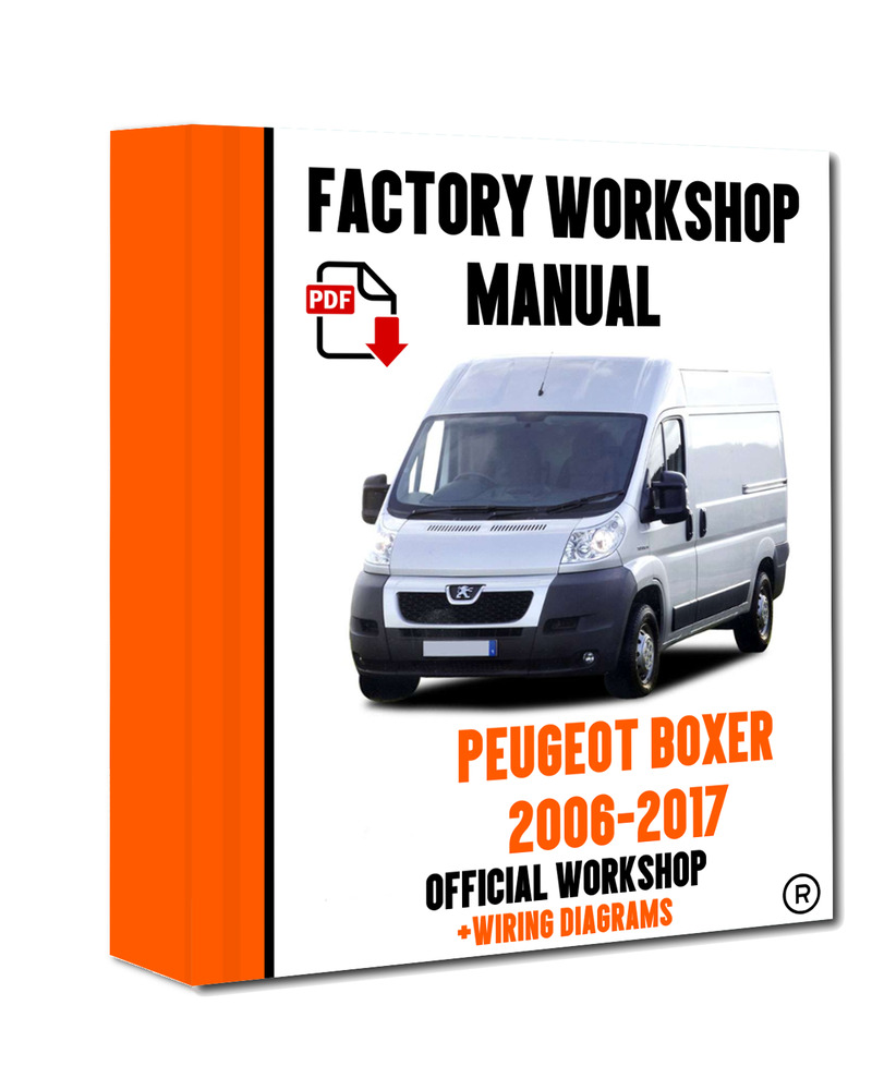 official workshop manual service repair peugeot boxer 2006 2017 rh ebay co uk
