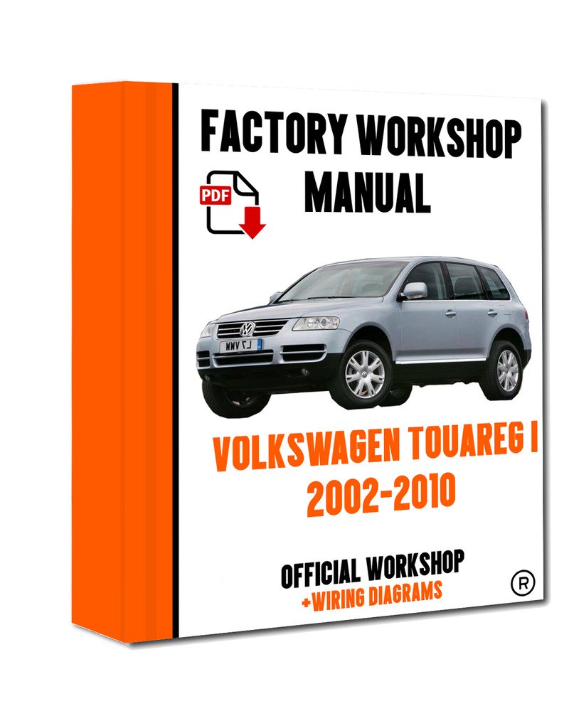 >> OFFICIAL WORKSHOP Manual Service Repair Volkswagen Touareg I 2002 - 2010  | eBay