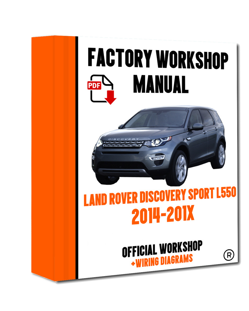 U0026gt  U0026gt  Official Workshop Manual Repair Land Rover Discovery Sport I550 2014