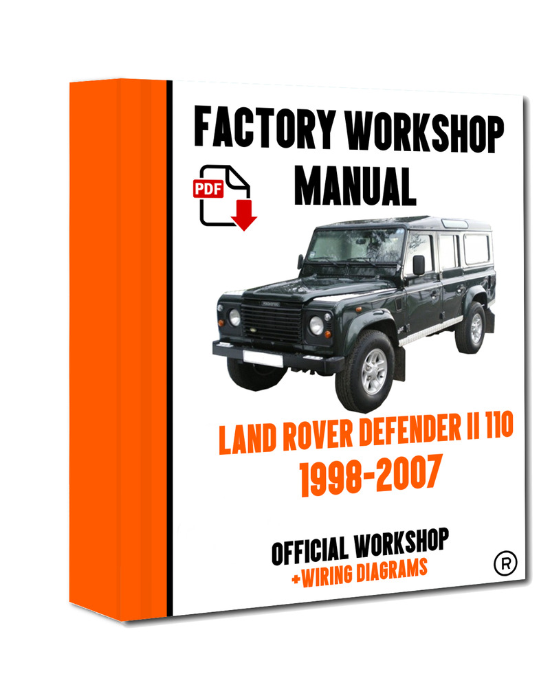 >> OFFICIAL WORKSHOP Manual Repair Land Rover Defender 110 II 1998 - 2007  7625694567313 | eBay