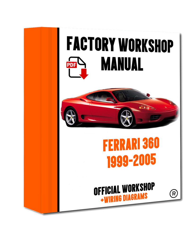 official workshop manual service repair ferrari 360 1999 2005 rh ebay co uk