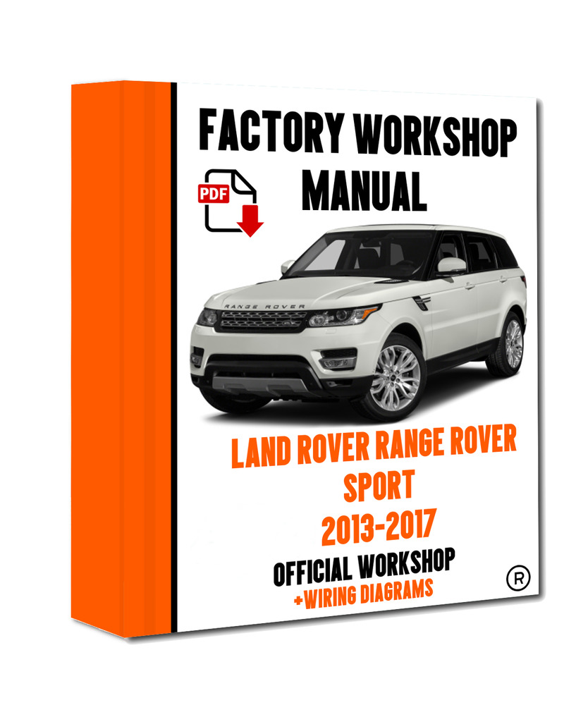lofficial workshop manual service repair land rover range roverdetails about lofficial workshop manual service repair land rover range rover sport 2013 201x