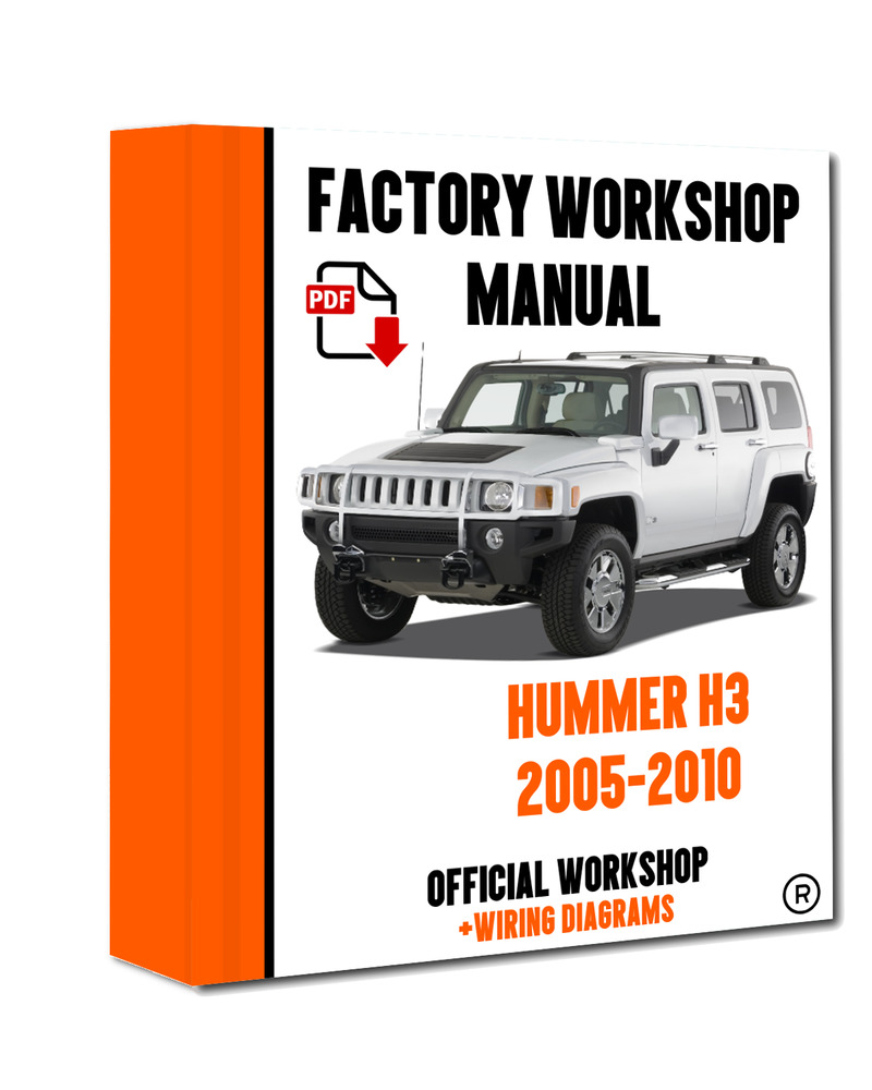 >> OFFICIAL WORKSHOP Manual Service Repair Hummer H3 2005 - 2010  7625694433038 | eBay