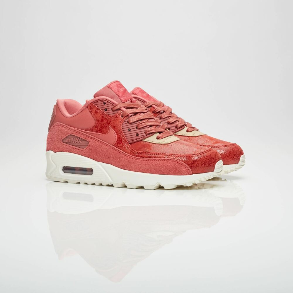 new product d96d1 e3fec Nike Womens Air Max 90 SD Light Redwood Trainers 920959 800   eBay