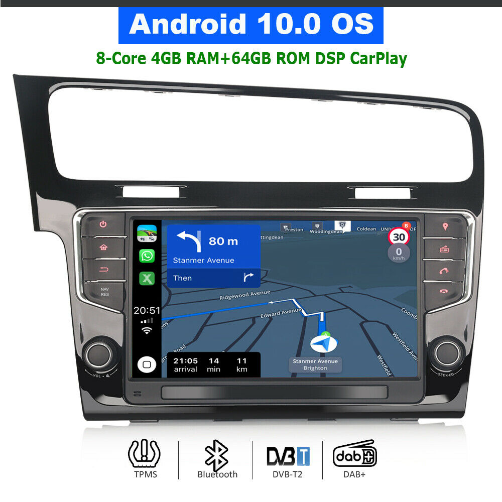 android 7 1 autoradio gps navi dab bluetooth wifi obd dvb. Black Bedroom Furniture Sets. Home Design Ideas
