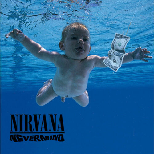 Nirvana NEVERMIND (EU, 424 425-1) 180g +MP3s BACK TO BLACK New Sealed Vinyl LP