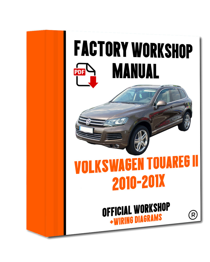 >> OFFICIAL WORKSHOP Manual Service Repair Volkswagen Touareg II 2010 -  2017 7625694598300 | eBay