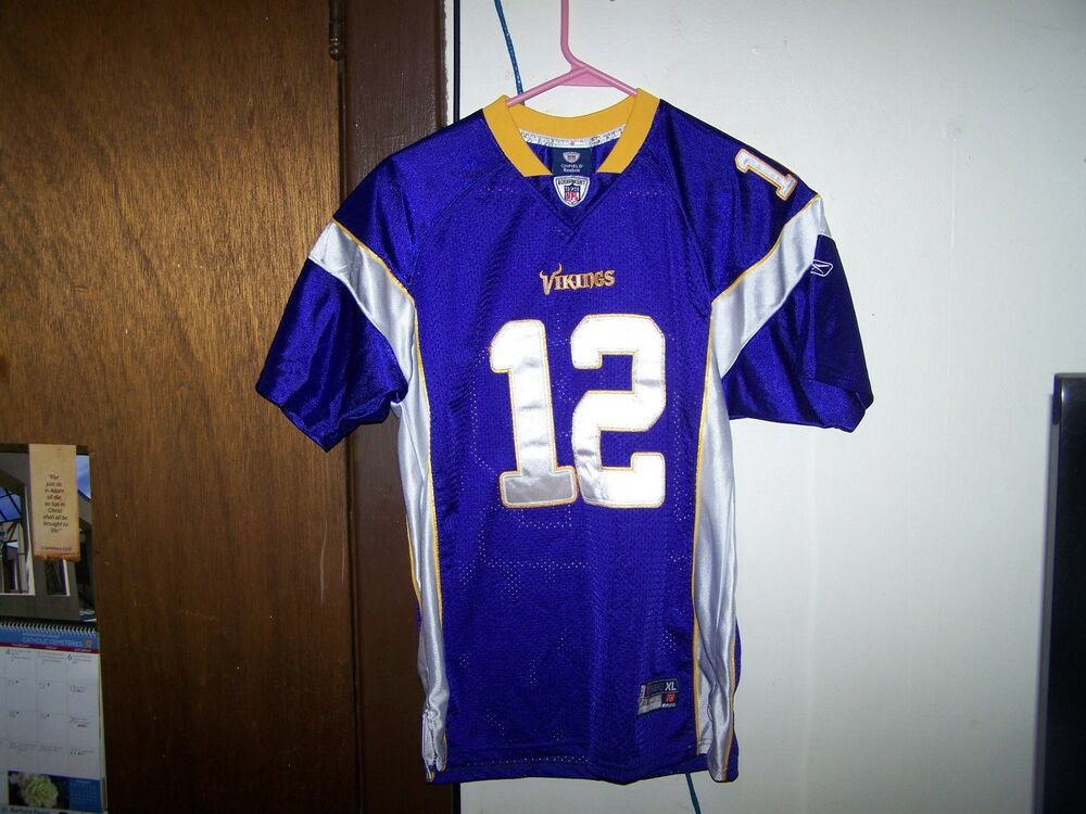 bef4152c REEBOK On Field NFL Players PERCY HARVIN Jersey Size YOUTH XL ...