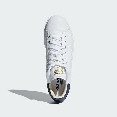 2d99bbbdd Details about Women Adidas CQ2201 Stan smith Running shoes white navy  Sneakers