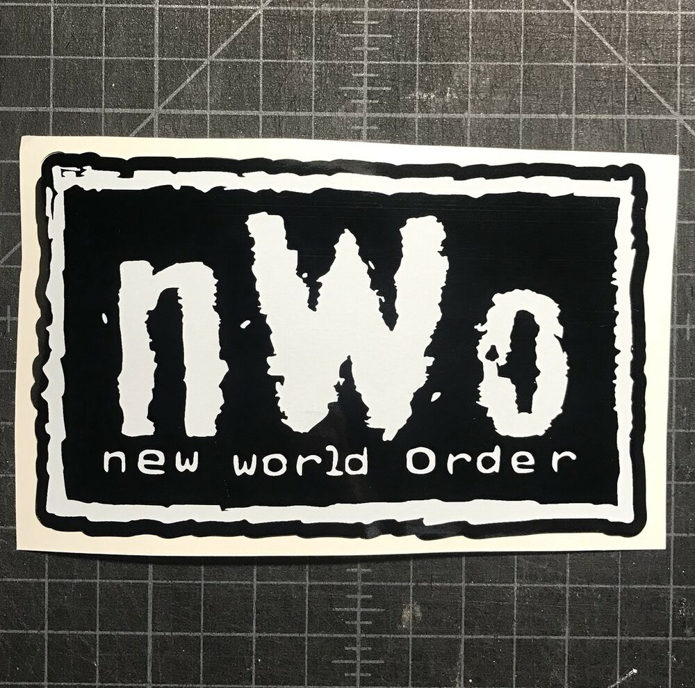 Nwo Vinyl Decal Cliq Wwe Wcw Wolfpack New World Order Car Truck