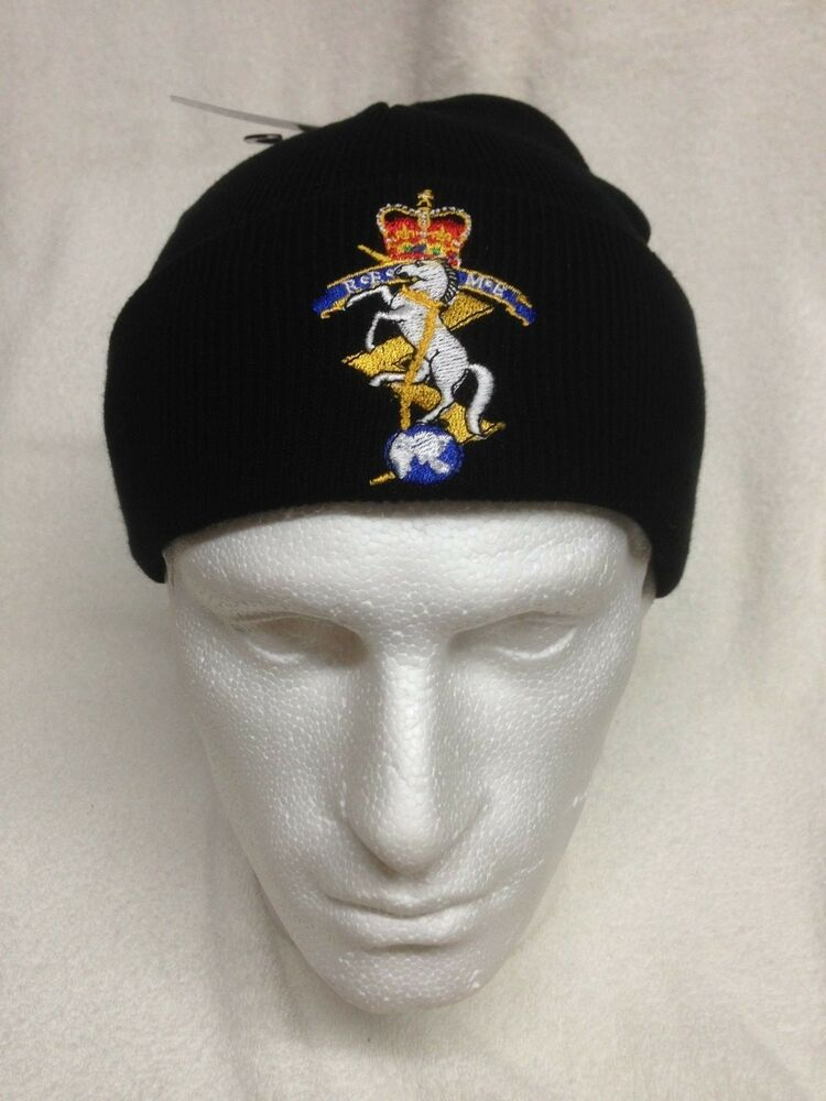 67de793fe8d Royal Electrical Mechanical Engineers - REME - Woolly Turn Up Hat   Beanie