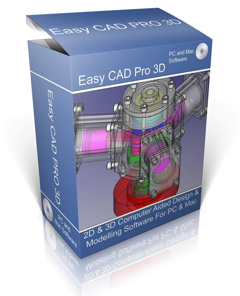 2D & 3D Modelling Suite On CD. Professional Computer Aided